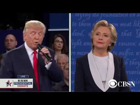 2016 Town Hall Presidential Debate  Part 6