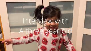 ZAYD INTERVIEWS RARA INTERVIEW WITH A THREE YEAR OLD FUNNY KIDS VIDEO