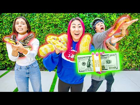 LAST TO DROP THE SNAKE WINS $10,000 DOLLARS!!