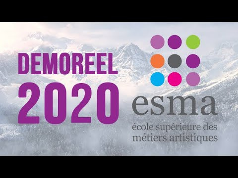 ESMA School - Demoreel (2020) - CG & FX School in France & Canada