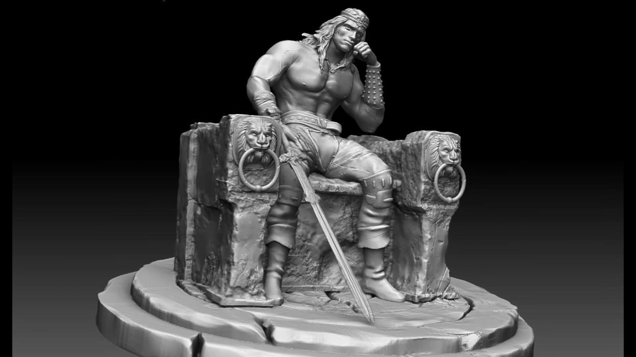 Sculpture 3d Model Max Free download