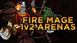 Fire Mage 1 VS 2 Montage [5.4.8]