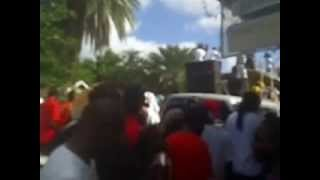 Sir Oungku and the Red Hot Flames Soca Road Jam 2012 Antigua