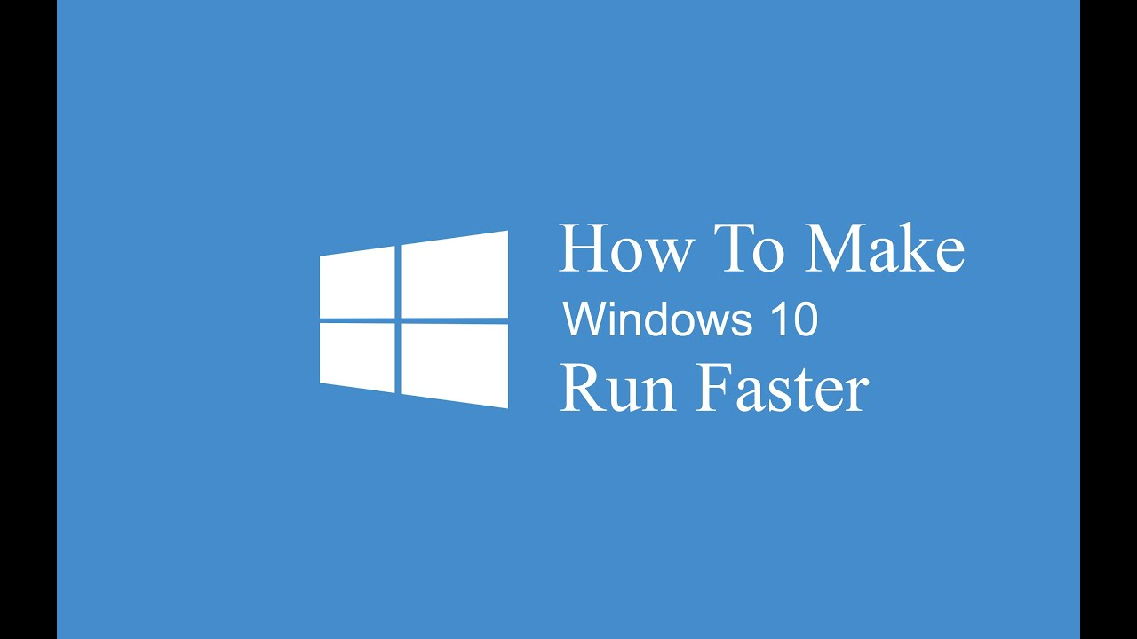 how to make windows 10 internet faster