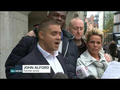 Guilty Fake Sheikh Mazher Mahmood Jailed ITV News Jonathan Royle Alex Smith