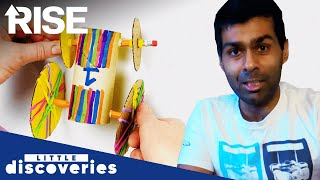 Karun Chandhok | Rubber Band Racer | Little Discoveries