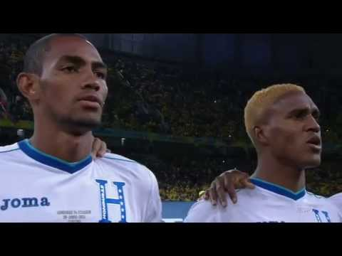 World Cup 2014 national anthems - Honduras vs  Ecuador