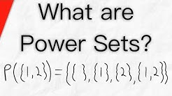 What is a Power Set? | Set Theory, Subsets, Cardinality