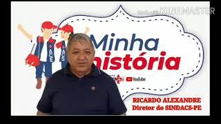 MINHA HISTÓRIA COM O DIRETOR RICARDO  ALEXANDRE                           22.09.2021