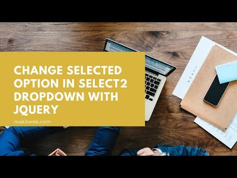 Change Selected option in Select2 Dropdown with jQuery
