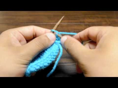 How To Knit The Reverse Stockinette Stitch Youtube