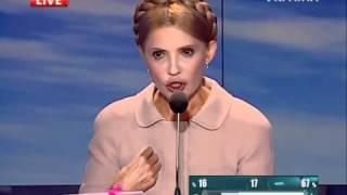 Юлія Тимошенко в програмі Шустер Live, ч.2