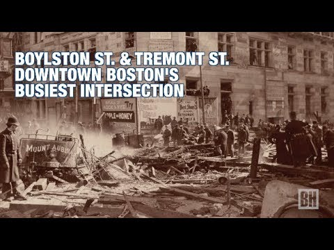 Boston History Project: Boylston & Tremont St. Busiest Intersection