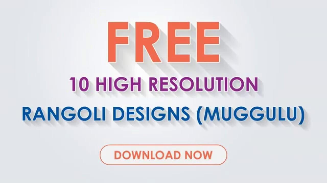 30 amazing & simple rangoli designs & patterns.