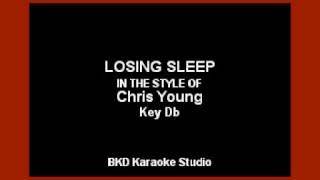 Chris Young - Losing Sleep (Karaoke Version)