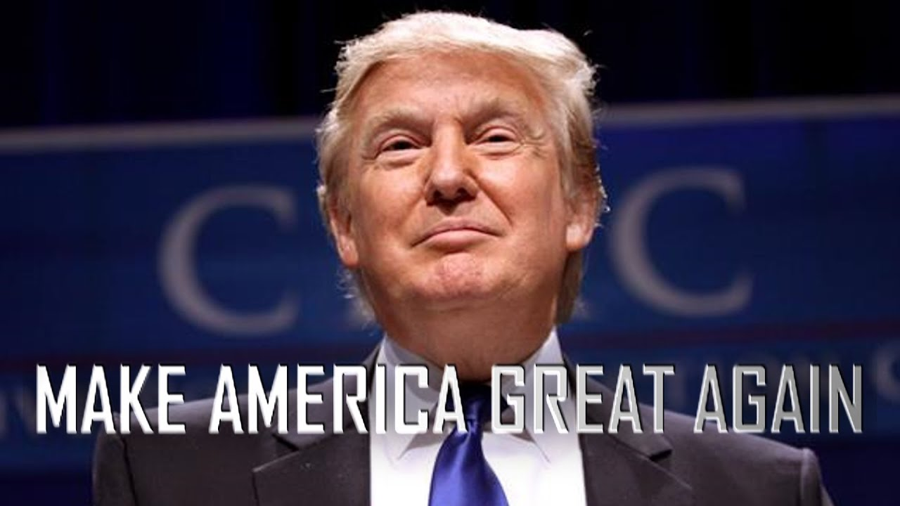 Trumpified sieg trump youtube for Make america great again wallpaper