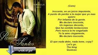 Inocente - Romeo Santos - Letra