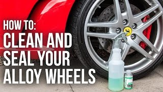 The Easy Way to Clean, Seal and Protect Car Wheels | CarPro HydrO2