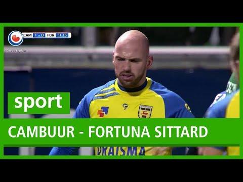 VOETBAL: Samenvatting Cambuur - Fortuna Sittard