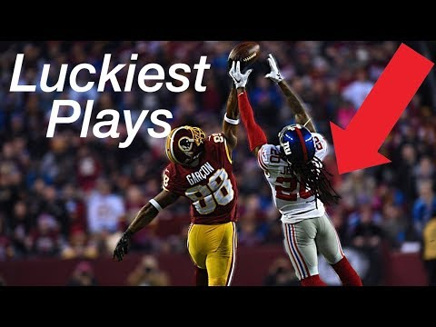 The Luckiest Plays In NFL History ᴴᴰ