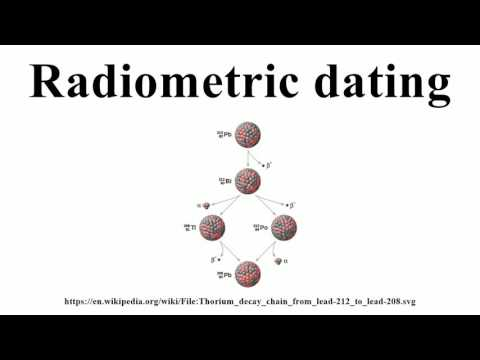 radioactive decay and radiometric dating