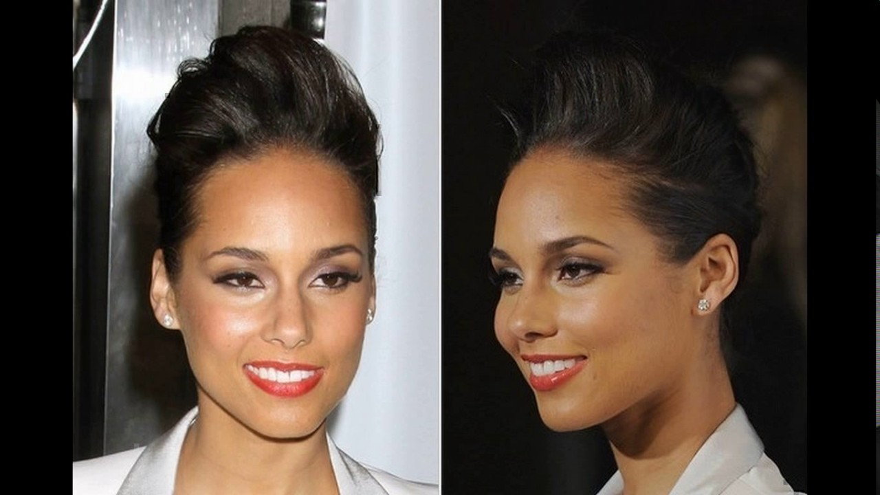 Alicia Keys Short Haircuts Youtube