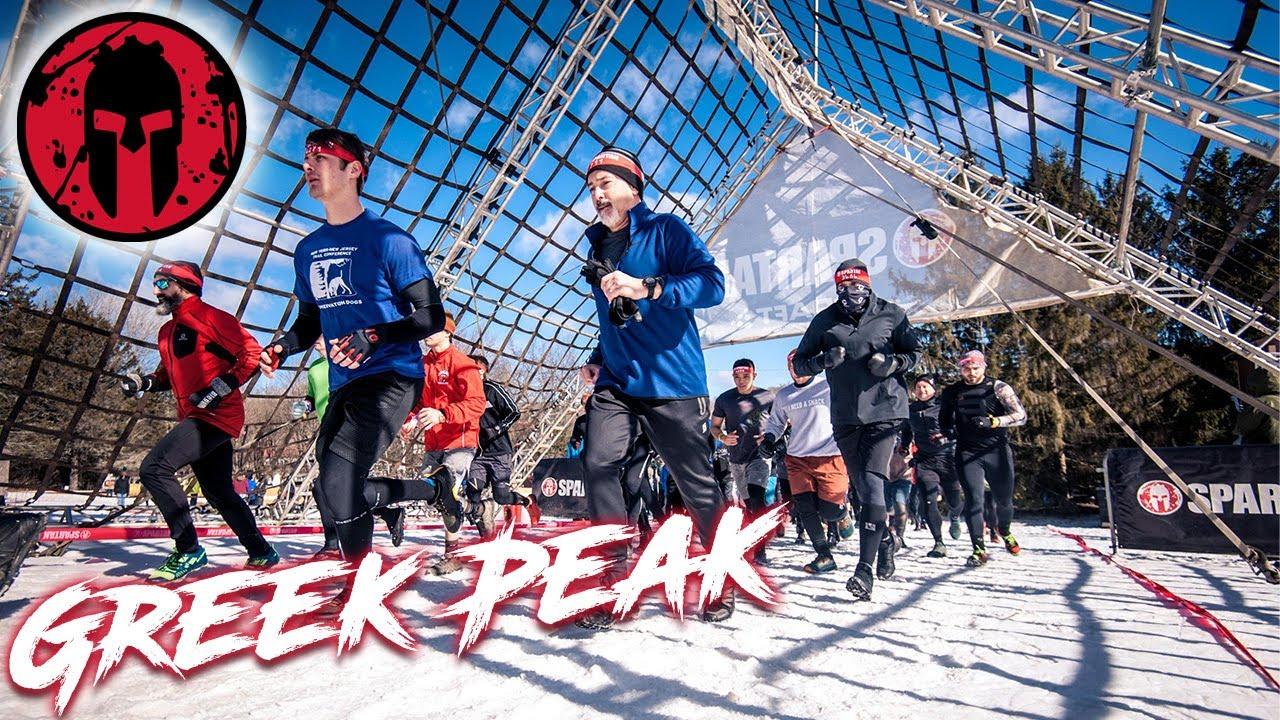 Spartan Race Sprint 2020 (All Obstacles) - Greek Peak