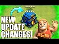 NEW UPDATE CHANGES INCOMING!! - Clash Of Clans - 2018 WINTER UPDATE!