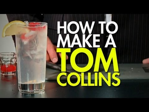 How To: Make The Tom Collins - YouTube