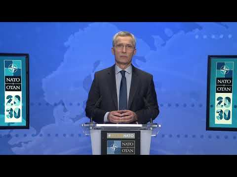 NATO Secretary General at the 2020 Afghanistan Donor Conference, 24 NOV 2020