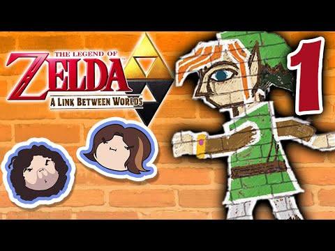 Zelda A Link Between Worlds: Busy Day - PART 1 - Game Grumps
