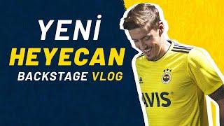 Yeni Başlangıç Yeni Heyecan 💛💙 #BackstageVlog 💪🏻 Fenerbahçe x adidas