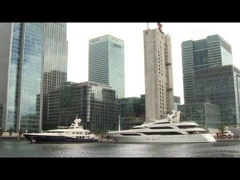 Superyachts bring slice of Monaco to East London