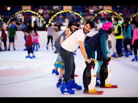 DUBAI MALL ICE RINK | Awesome place to spend Leasure time