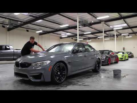BMW M3 Paint To Sample - Basic Wash and Wax - Choose Your Car Washing Products Carefully