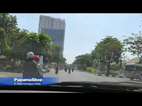 Kota Surabaya - Dari Jl. Stasiun Wonokromo Menuju Bundaran Institut Teknologi Sepuluh Nopember (ITS)