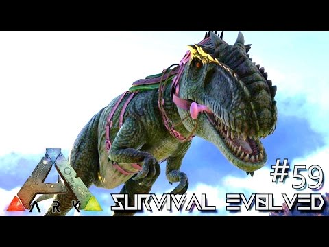 ARK: Survival Evolved - TAMING GIGANOTOSAURUS SOLO - Lvl 200 GIGA !!! [Ep 59] (Server Gameplay)
