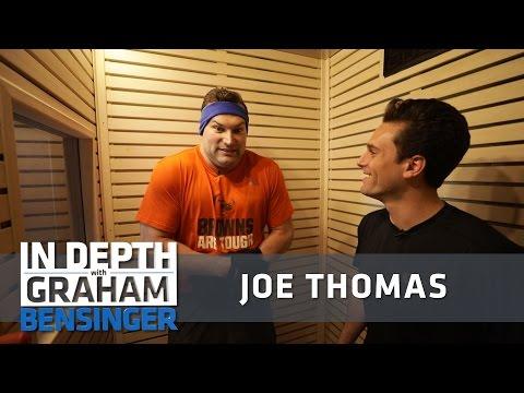 Joe Thomas: Strength, conditioning and -256 degrees