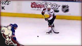 NHL: Saucer Passes