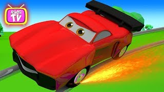 Learn colors with car and other toys for baby. Cartoon For Children