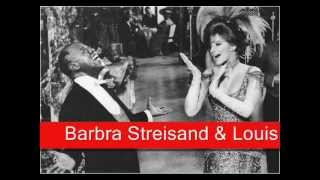 Barbra Streisand Louis Armstrong Hello Dolly