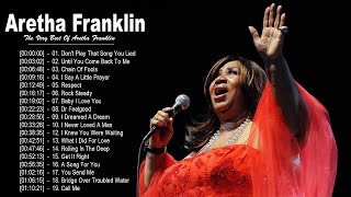 Aretha Franklin Greatest Hits - Best Of Aretha Franklin - Aretha Franklin Top Songs Collection 2020
