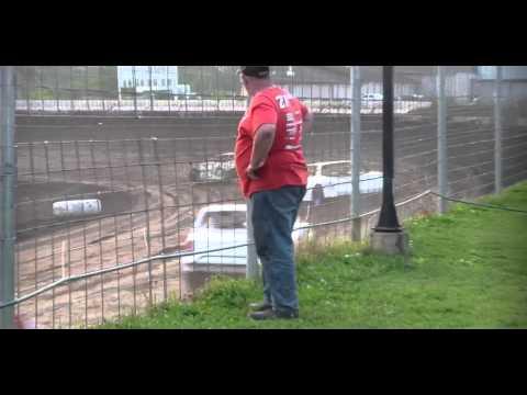 7.3.15----Peoria Speedway----Street Stock---Heat Race