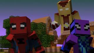 """Minecraft сериал:""""Человек Паук"""" - 3 серия - Могущественый Шокер"""