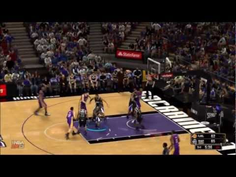 NBA 2K13: Lakers at Kings Quick Match (part 2 of 3)