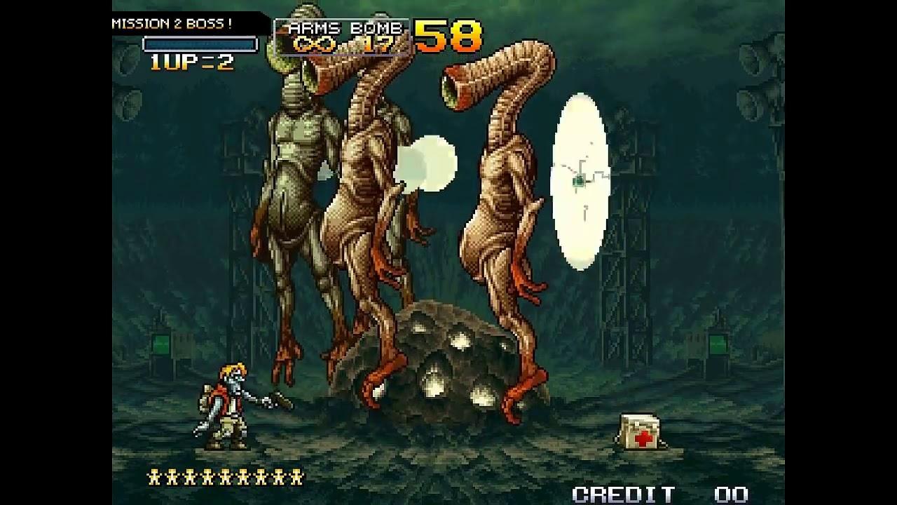 [Game Tuổi Thơ 4 Nút] METAL SLUG 3    ALL SECRETS Rambo Lùn 3