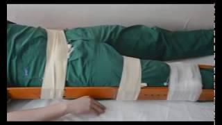 Транспортная иммобилизация при травмах позвоночника, костей таза, верхних и нижних конечностей.