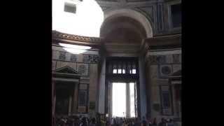 ARCO DI LUCE pantheon