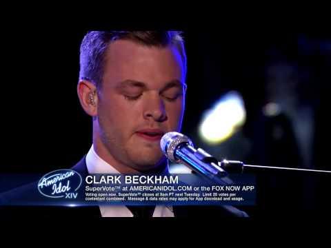Clark Beckham - Moon River (Top 6)