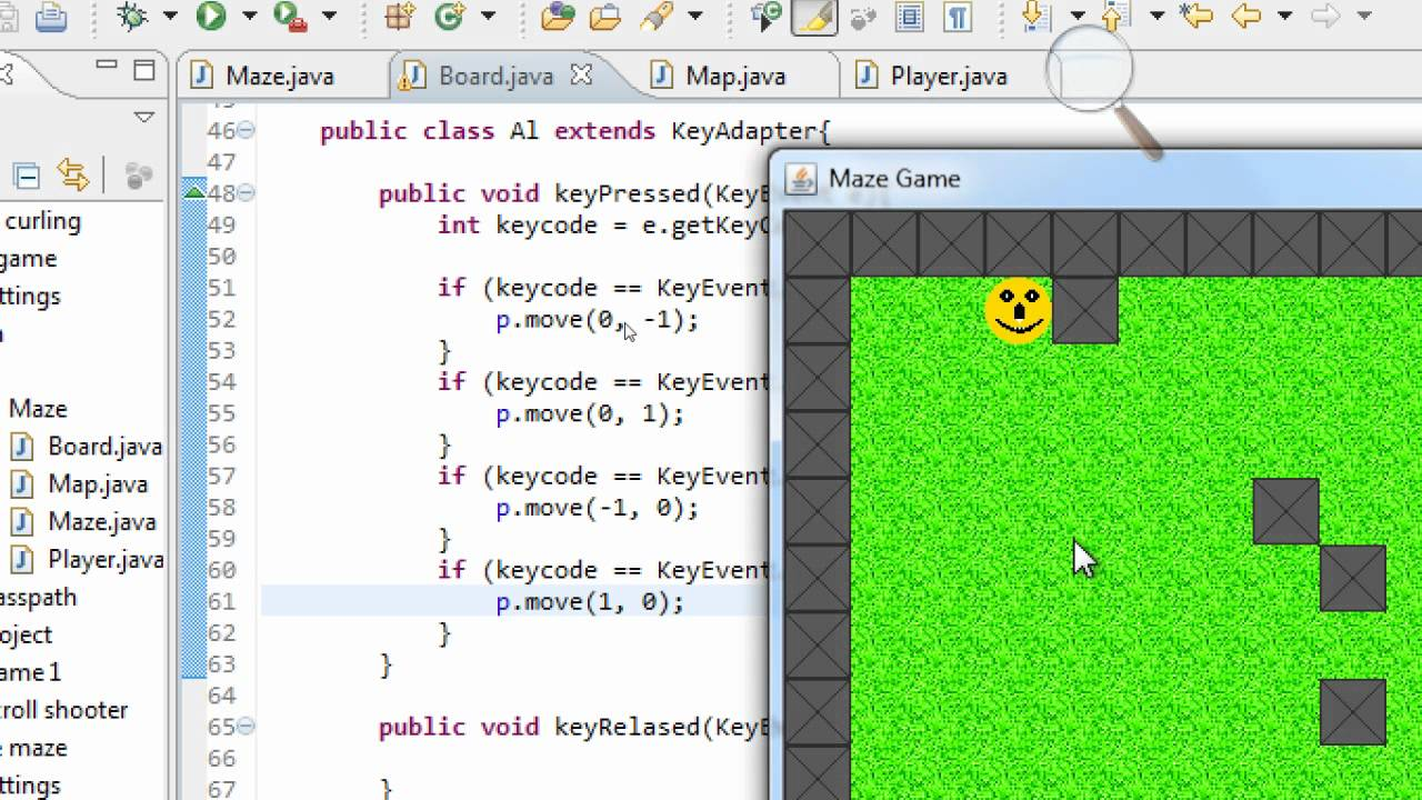 Very basic java game programming part 1 | free source code.